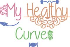 My healthy curves health blog logo