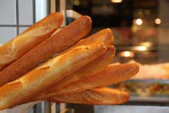 Some nice looking French baguettes