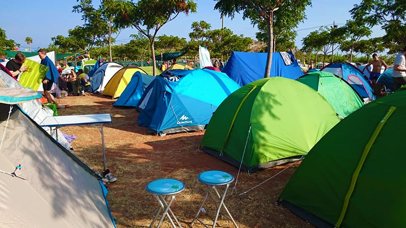 The-camping-area-at-benicassim-festival