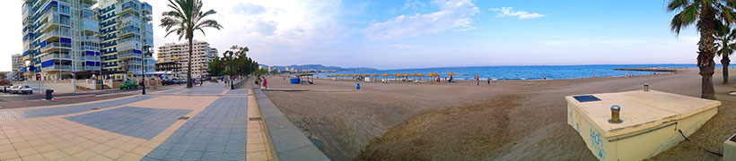 panorama-of-benicassim-beach