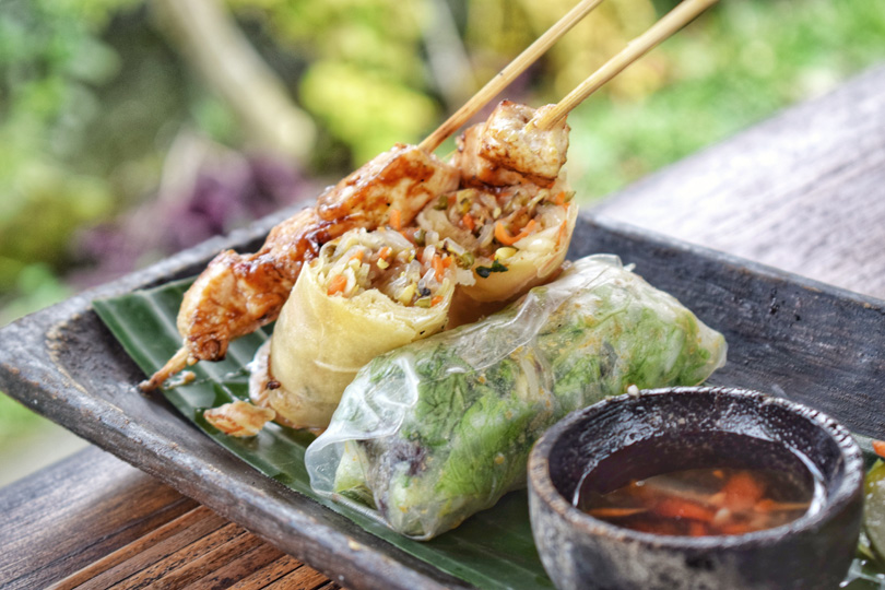 balinese cuisine - the food we had in bali