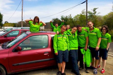 campsite-couriers-on-local-information-day-stood-by-a-car