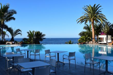 The pool at roca nivaria hotel review
