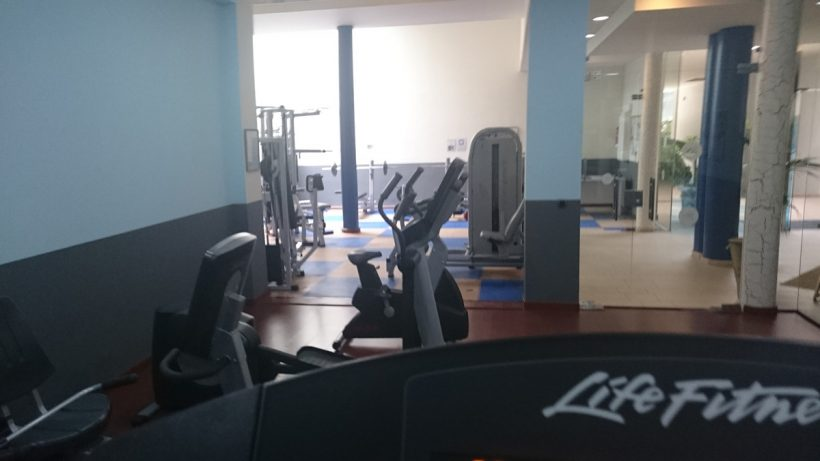 indoor gym at roca nivaria