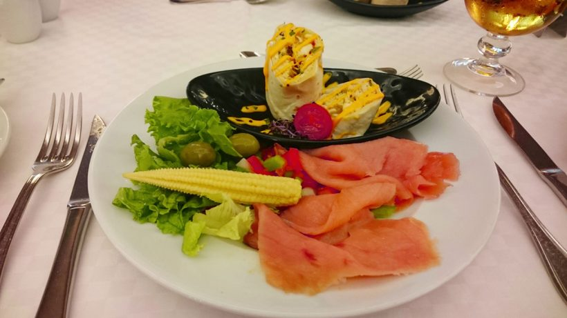 foods at Roca Nivaria Hotel