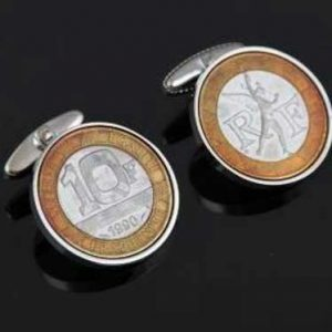 french-franc-cufflinks